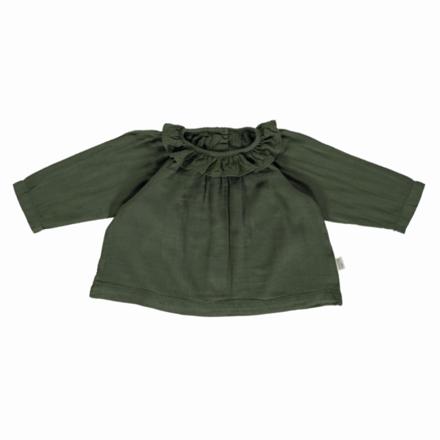 Blouse Charme Forest Green